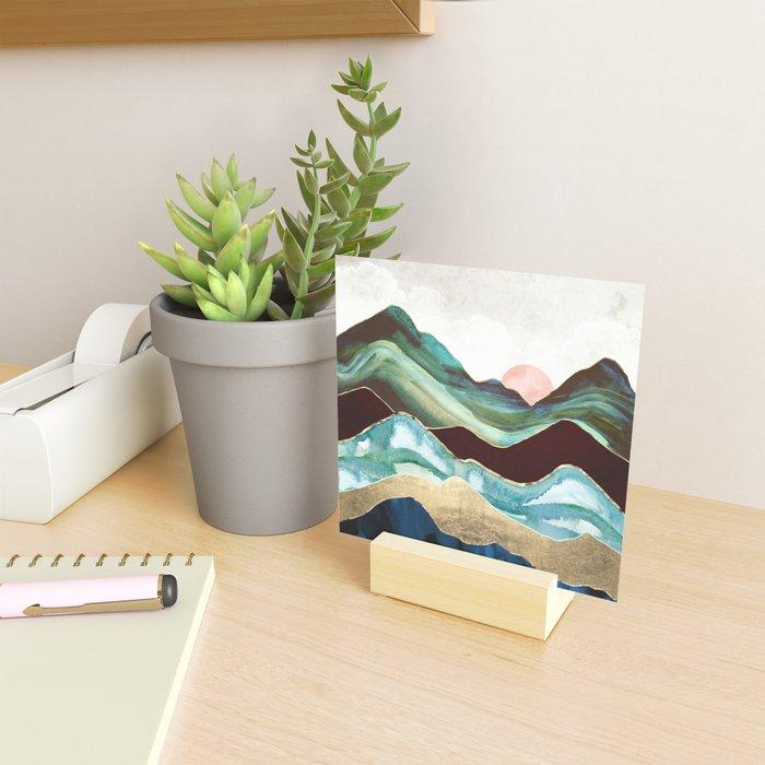 Velvet Mountains Mini Art Print