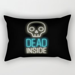 Dead inside Rectangular Pillow