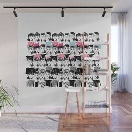 Barbie is the new black Wall Mural
