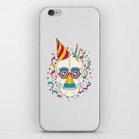 happy birthday iPhone & iPod Skins featuring Happy Birthday by John Tibbott