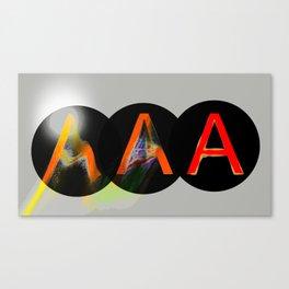 America's Credit Note II Canvas Print