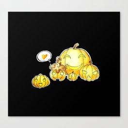 Pumpkaboo Canvas Print