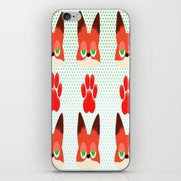 Loyal fox iPhone Skin
