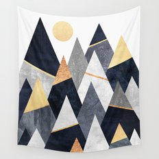 Fancy Mountains Wall Tapestry