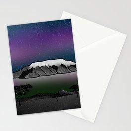 Mount Kilimanjaro Stationery Cards