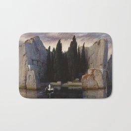 Arnold Böcklin - The Isle of the Dead Bath Mat