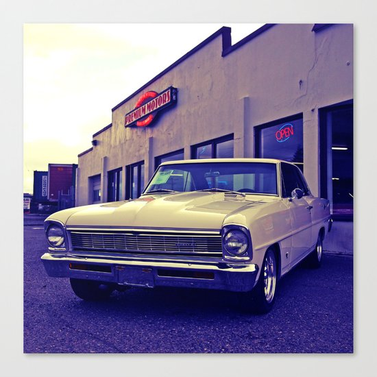 Chevy 2 cool Canvas Print