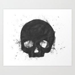 That Damn Skull Art Print