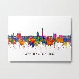 Washington D.C. USA Skyline Metal Print