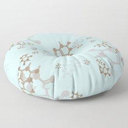 caffeine blues Floor Pillow