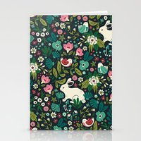forest Stationery Cards featuring Forest Friends by Anna Deegan