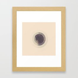 CIRCLES ON CIRCLES Framed Art Print
