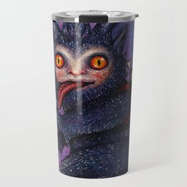 Holiday Krampus Travel Mug