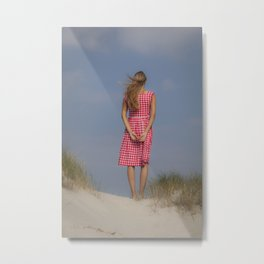 Looking out Metal Print