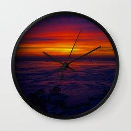 Sunrise in the Vortex Wall Clock