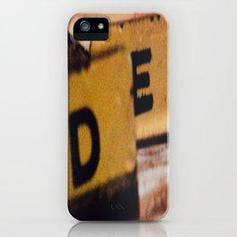 D&E iPhone Case