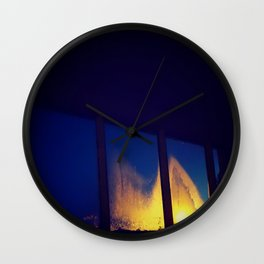 Fogged Perspective Wall Clock