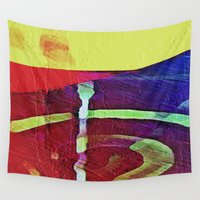 hook Wall Tapestries featuring Hook Echo by David Lee