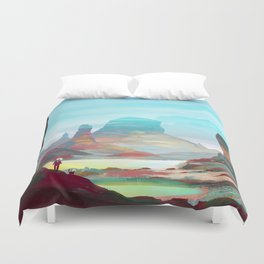 On another planet 2 Duvet Cover