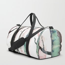 Birch Tree Forest Duffle Bag