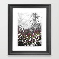 Pylon Framed Art Print