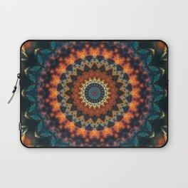 Fundamental Spiral Mandala Laptop Sleeve