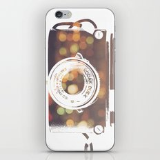 camera print iPhone & iPod Skin