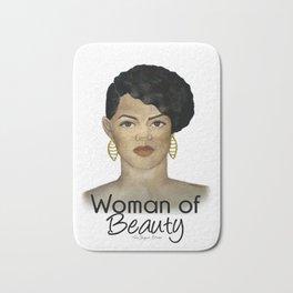 Woman of Beauty Bath Mat