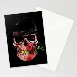 Gypsy skull Stationery Cards