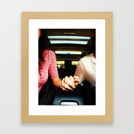 Onset Framed Art Print