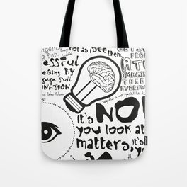 Imagination in the membrane Tote Bag