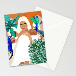 Indian Vacay #illustration #painting Stationery Cards