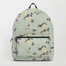Ranuculus & eucalyptus Backpack
