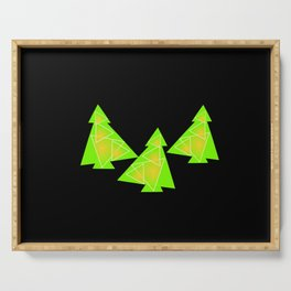 Three little trees Serving Tray