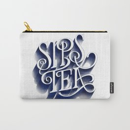 Sips Tea Carry-All Pouch