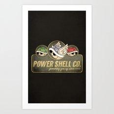 Power Shell Co. Art Print