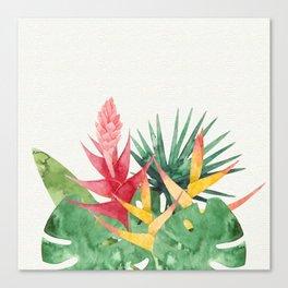 Summer Leaves Mural Canvas Print