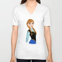 anna V-neck T-shirts featuring ANNA by Lauren Lee Design's
