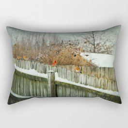 Birds of a Feather Rectangular Pillow
