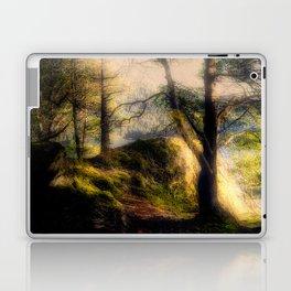 Misty Solitude, The Way Through The Woods Laptop & iPad Skin