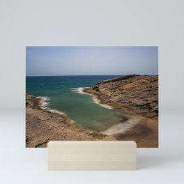 Secret beach in El Medano Mini Art Print