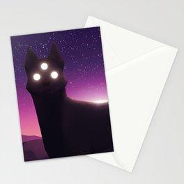 Desert Wolf Stationery Cards