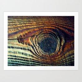 Knot Eye Art Print
