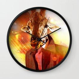 Be Nice to ANImals Wall Clock