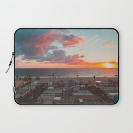 California Sunset Color Explosion Laptop Sleeve