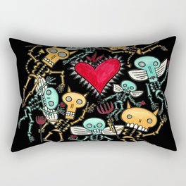 Devils and Angels Rectangular Pillow