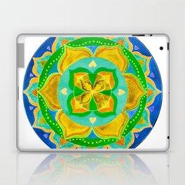 Opening the Heart Mandala Laptop & iPad Skin