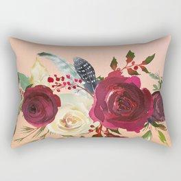 Flowers bouquet 79 Rectangular Pillow