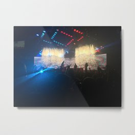 Blink 182 Concert Metal Print
