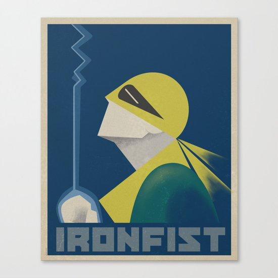 IronFist - Yong spirit Canvas Print